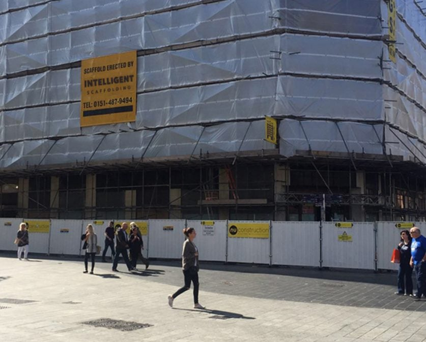 what is scaffolding wrapping and what are the benefits?